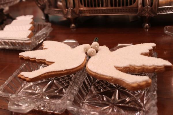biscoitos decorados 12 Lembrancinhas comestíveis