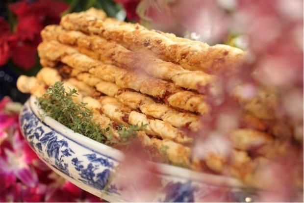 buffet zest 3 Apresentação do buffet {com azul e branco}
