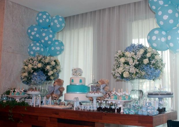 12 Decoração: azul e branco