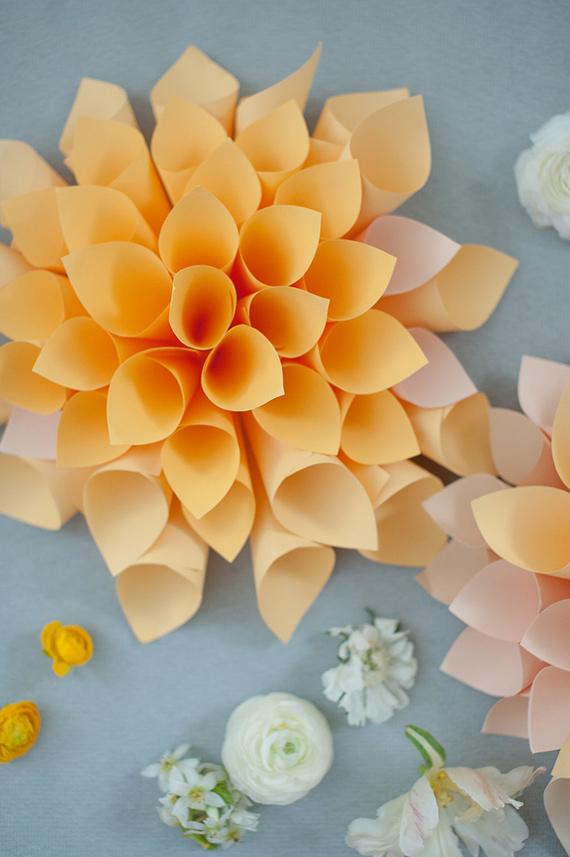 flores de papel 2 DIY: flores de papel