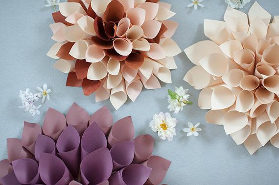 flores de papel 3 DIY: flores de papel