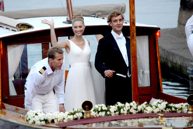 BEATRICE BORROMEO 2 Beatrice Borromeo e Pierre Casiraghi