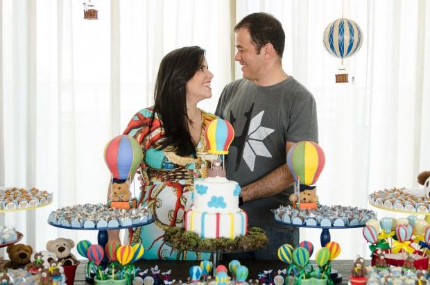 foto 108 Decoração: urso e balões