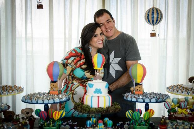foto 110 Decoração: urso e balões