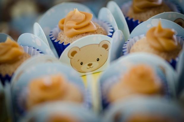 foto 16 Decoração: urso e balões