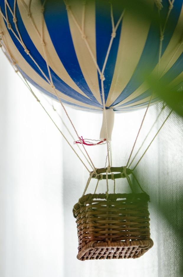 foto 26 Decoração: urso e balões