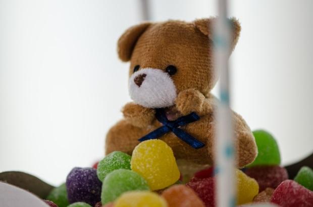 foto 42 Decoração: urso e balões