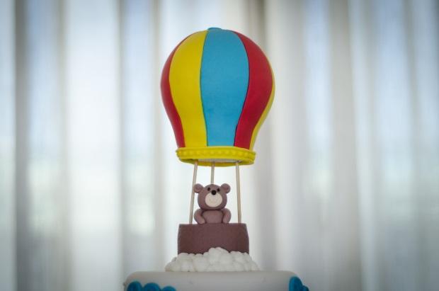 foto 44 Decoração: urso e balões
