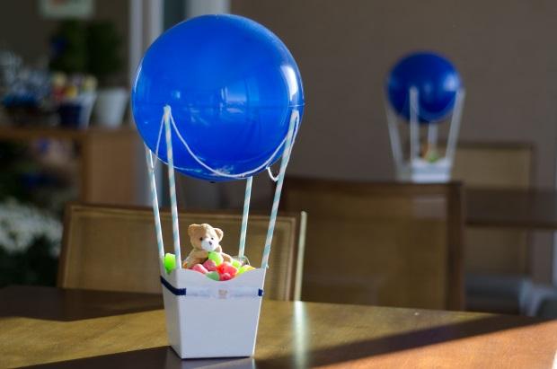 foto 52 Decoração: urso e balões