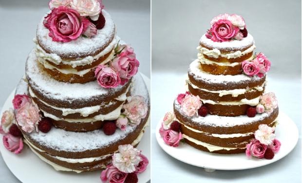 naked cake 7 Naked Cake {com flores}