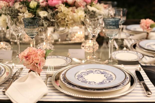 mesa posta 10 Mesa posta {rosa, azul e branco}