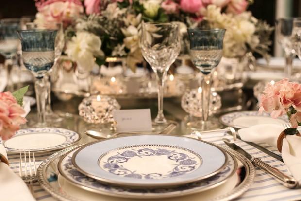 mesa posta 3 Mesa posta {rosa, azul e branco}