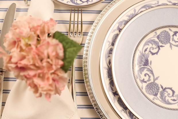 mesa posta 6 Mesa posta {rosa, azul e branco}