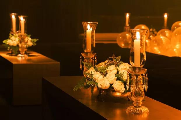 velas na decoracao 4 Velas na decoração