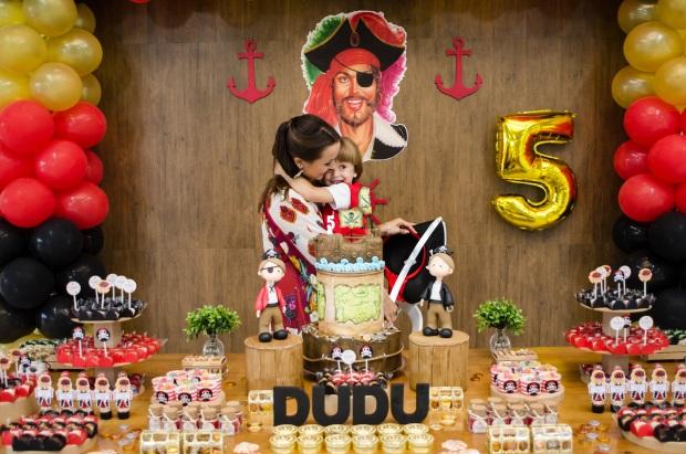 dudu 13 Decoração: piratas