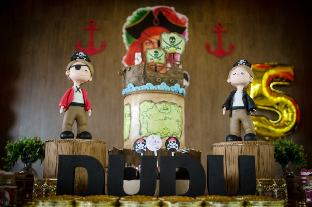 dudu 7 Decoração: piratas
