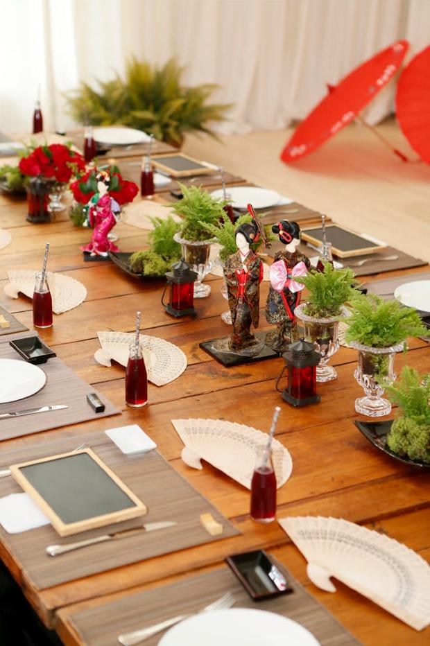 festa japonesa 1a Decoração: festa oriental
