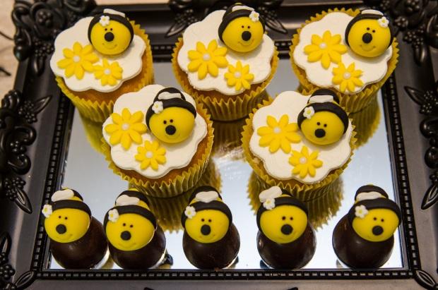 cha abelhinhas 13 Decoração: abelhinhas