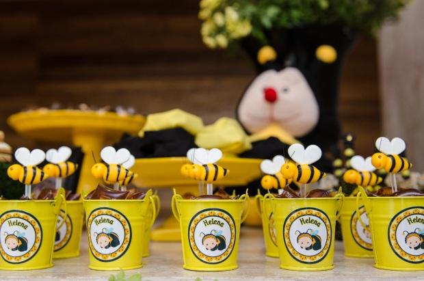 cha abelhinhas 15 Decoração: abelhinhas