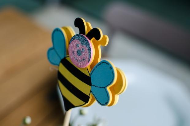 cha abelhinhas 16 Decoração: abelhinhas