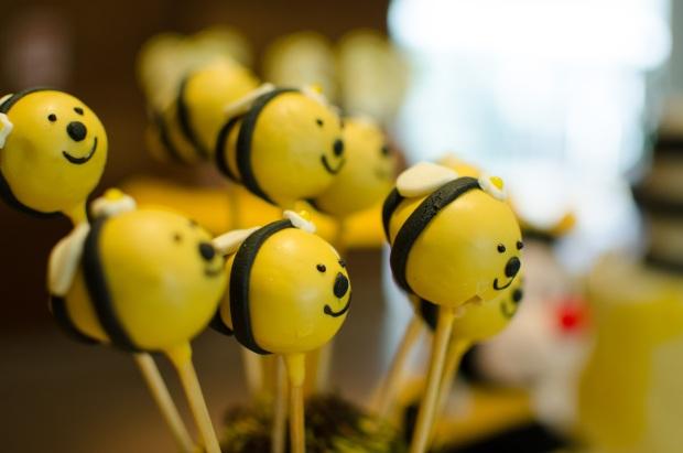 cha abelhinhas 29 Decoração: abelhinhas