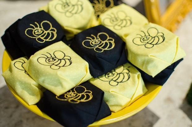 cha abelhinhas 31 Decoração: abelhinhas
