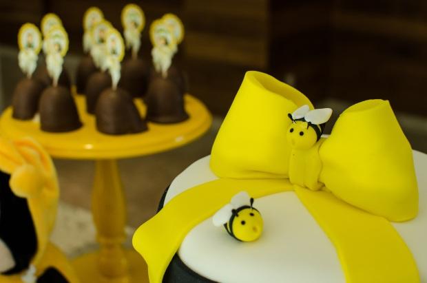 cha abelhinhas 36 Decoração: abelhinhas