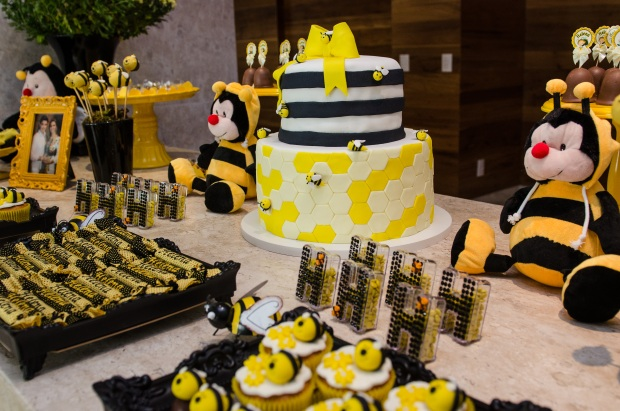 cha abelhinhas 9 Decoração: abelhinhas