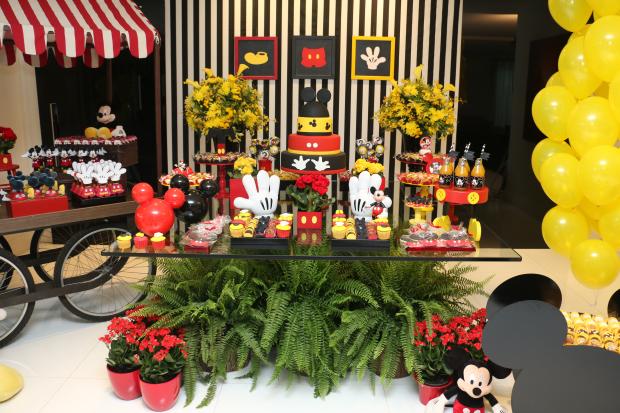 festa mickey 1 Decoração: Mickey Mouse