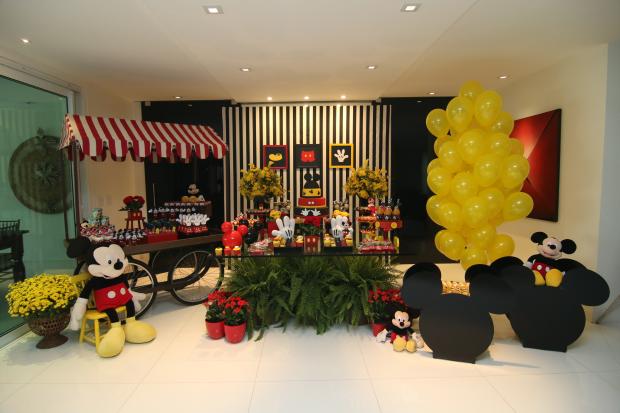 festa mickey 10 Decoração: Mickey Mouse