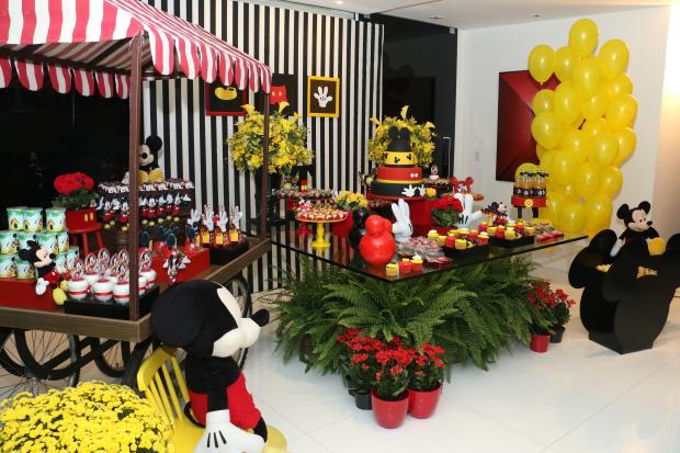 festa mickey 16 Decoração: Mickey Mouse