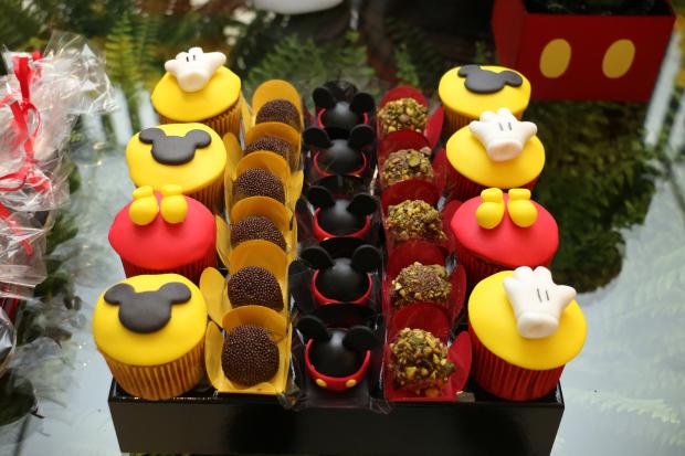 festa mickey 3 Decoração: Mickey Mouse
