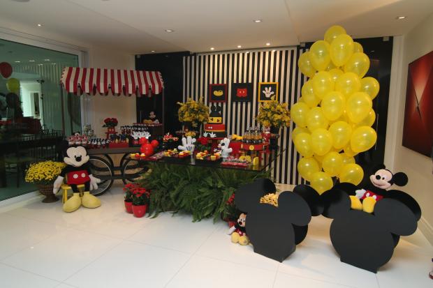 festa mickey 9 Decoração: Mickey Mouse