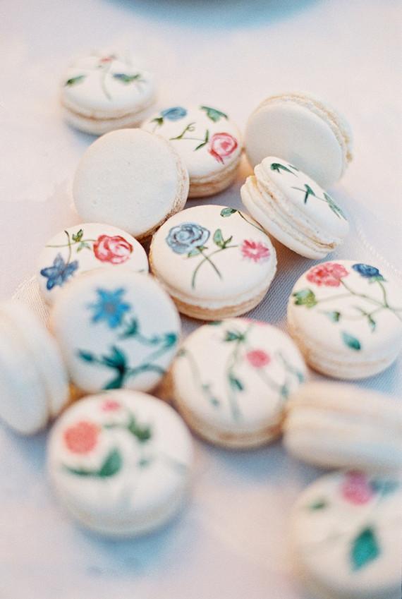 macarons floridos 3 Macarons + Flores