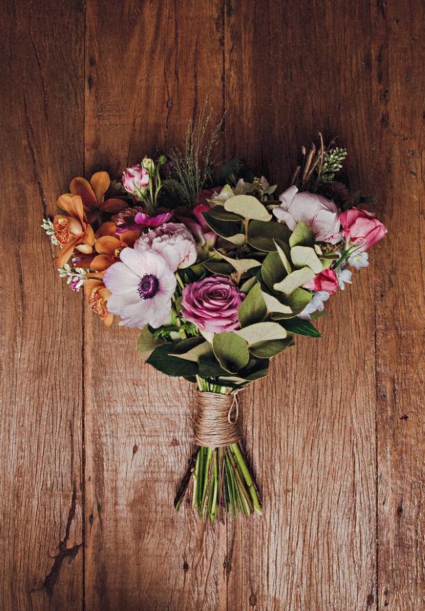 buque de flores Flores para vocês