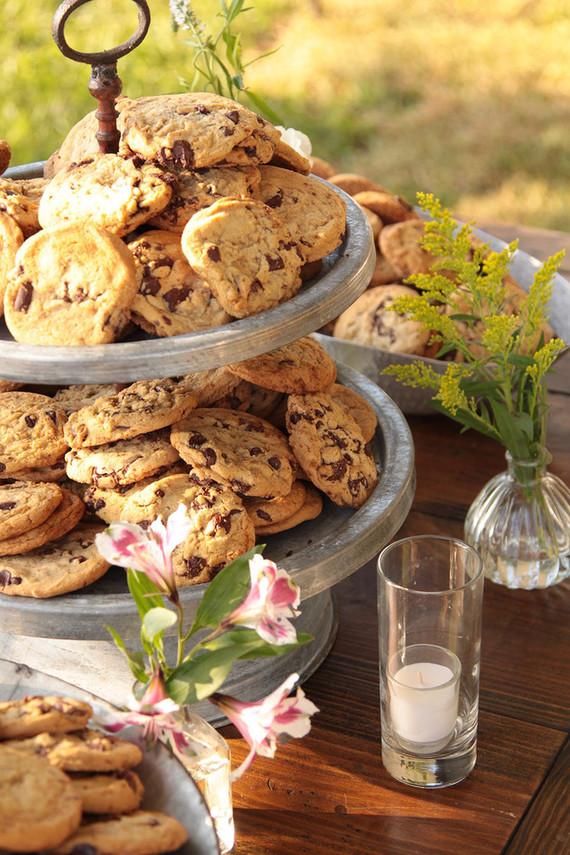 cookies para casamento nao foi ainda 1 Cookies para a mesa do café