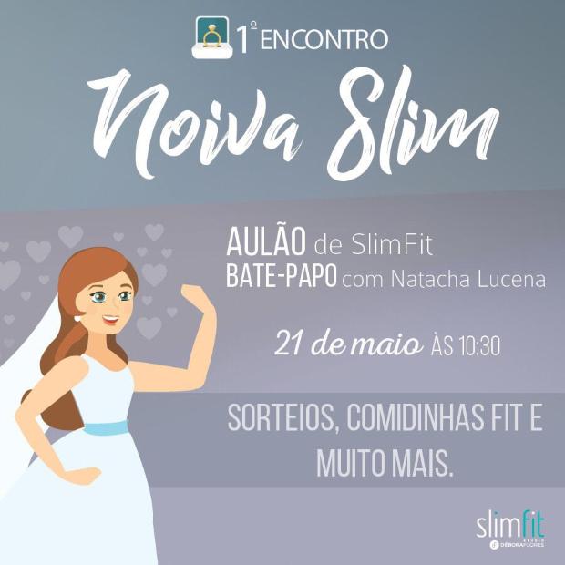 convite 2 Primeiro Encontro Noiva Slim