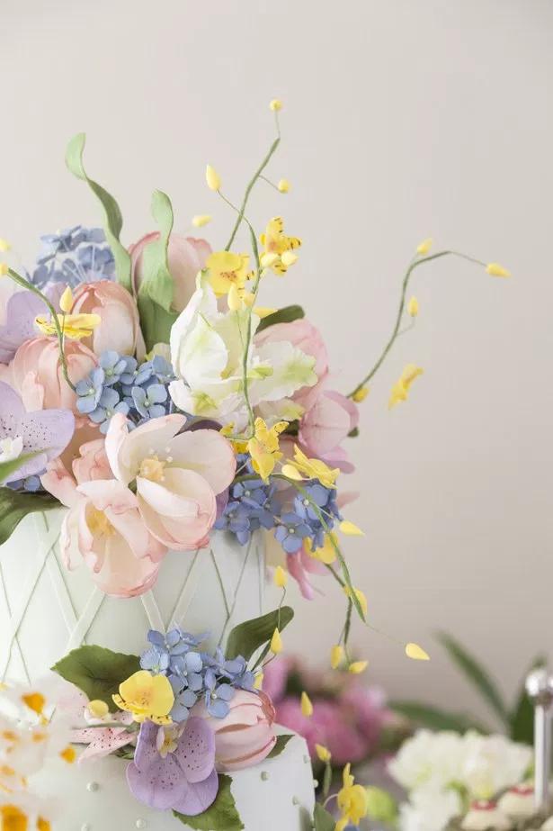 bolo e flores 2 Bolo + Flores