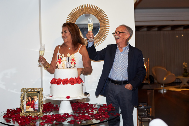 bodas 45 anos 26 Bodas de rubi {45 anos de casados}