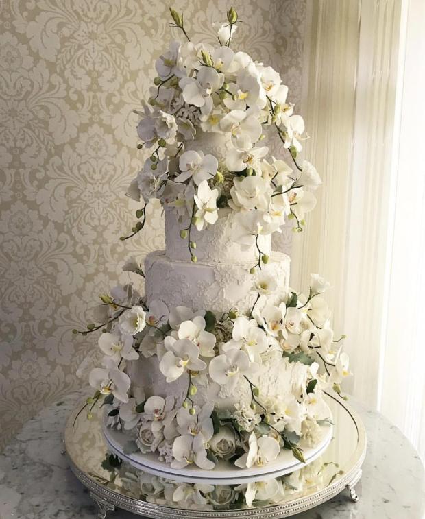 bolo com flores the king cake Bolo {com orquídeas}