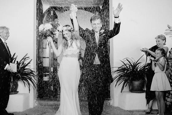casal 2 Fotografia: com chuva de arroz