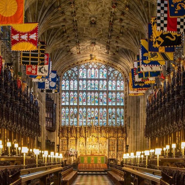 capela casamento real Falta pouco: Meghan Markle e Príncipe Harry