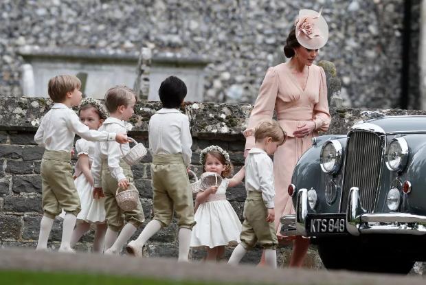 pajens e daminhas 3 Casamento Real: pajens e daminhas